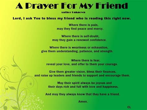 Praying For A Friend In Need Quotes
