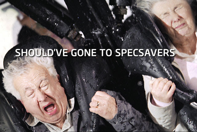 Image result for should've gone to specsavers advert