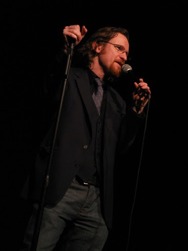 Adam Burke at the Lakeshore Theater Feb. 7, 2009