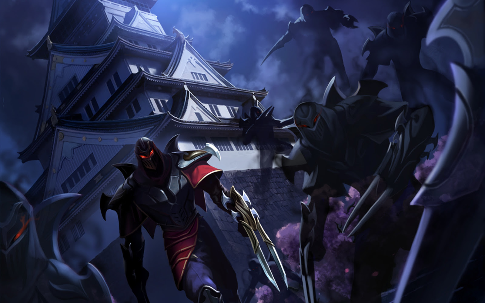 Zed Sneak Peek Wallpaper League Of Legends Wallpapers