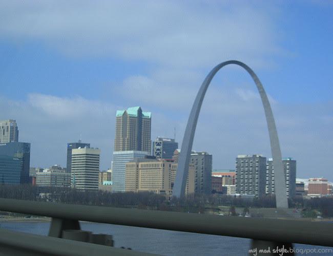 St Louis Over Bridge