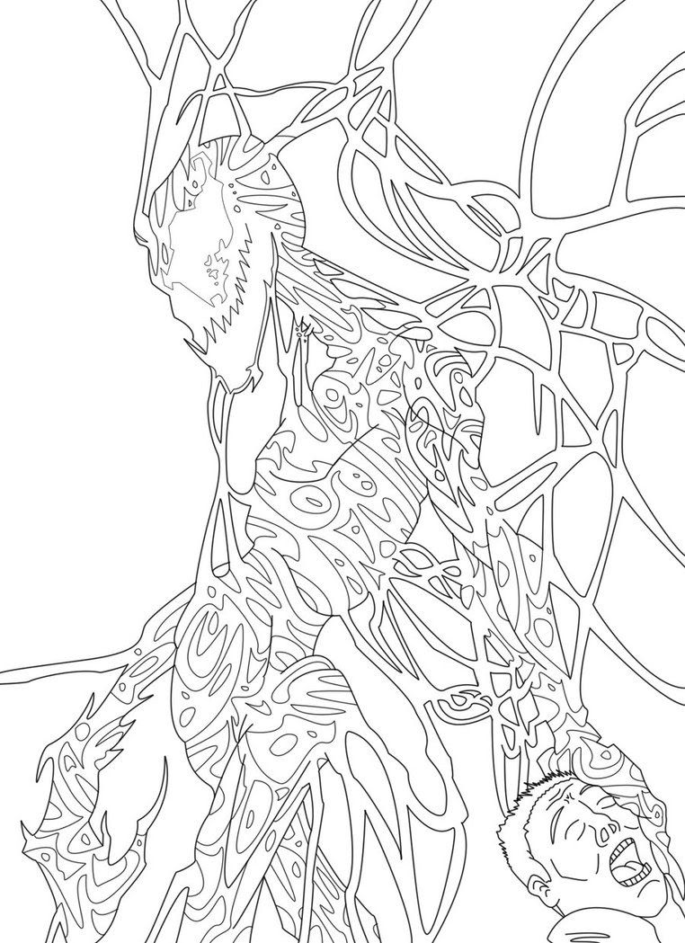 440 Top Coloring Pages Carnage For Free