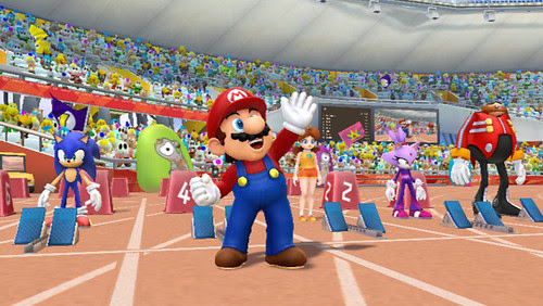 Mario & Sonic at the London 2012 Olympic Games - Wii Sprint