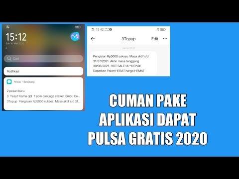 √ Pulsa Gratis Dari Aplikasi Update Maret 2021