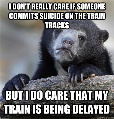 Funny Train Track Captions Cool Attitude Captions