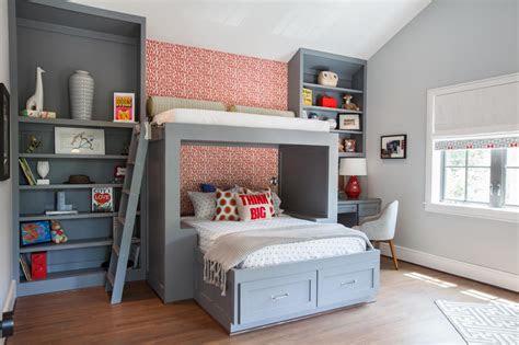 custom boys bunk bed fresh faces  design hgtv