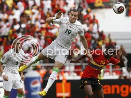Yebda da Argélia passou com Angola aos quartos-de-final