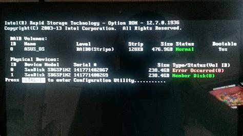 partition recovery repair raid  bad suspension