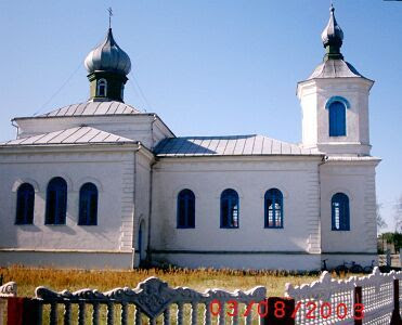 The Orthodox Church of Malecz in 2003