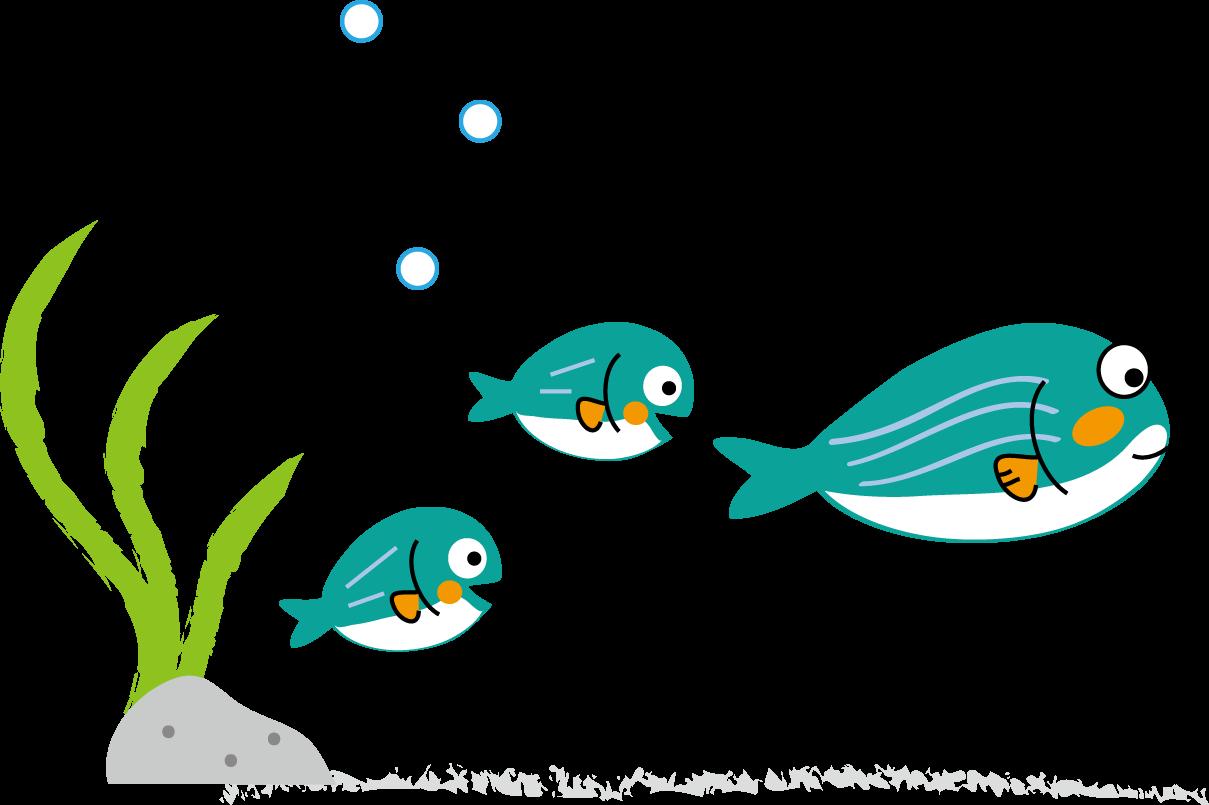 おさかな 可愛いお魚さんのイラスト 画像 Naver まとめ