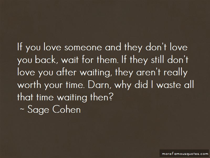 Quotes About Waiting For Someone To Love You Back Top 4 Waiting For
