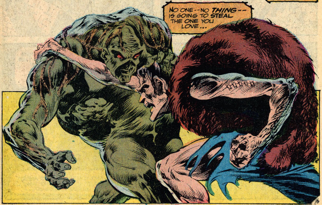 Swamp Thing #3, by Len Wein and Bernie Wrightson
