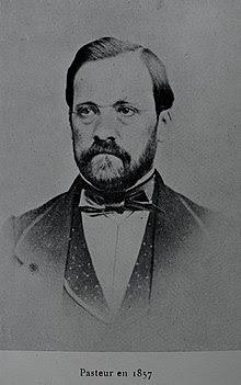 Photo de Louis Pasteur en 1857