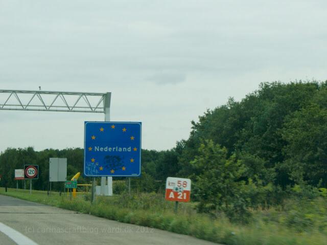 Dutch border - coming from Belgium.