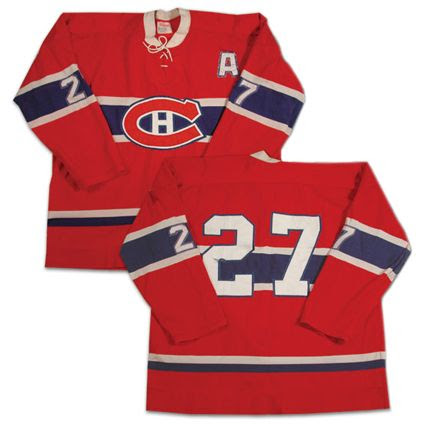 Montreal Canadiens 72-73 jersey