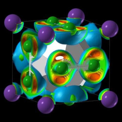 Η δομή του NaCl3 (Credit: Artem Oganov)