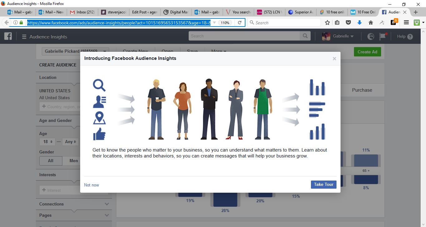 50 Free Marketing Tools Any Small Business Can Use - Facebook Audience Insights