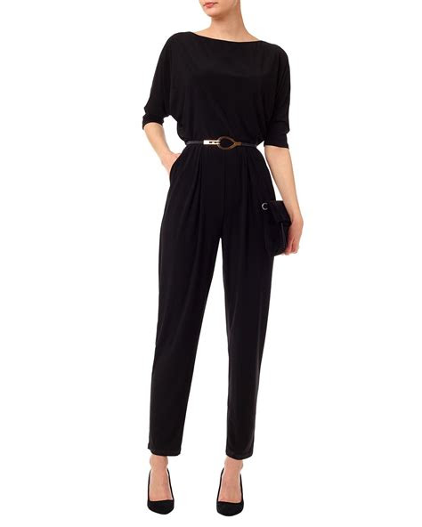 maxi dresses jumpsuits black eleanora jumpsuit phase