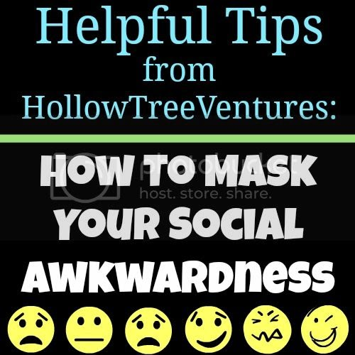 How To Mask Your Social Awkwardness