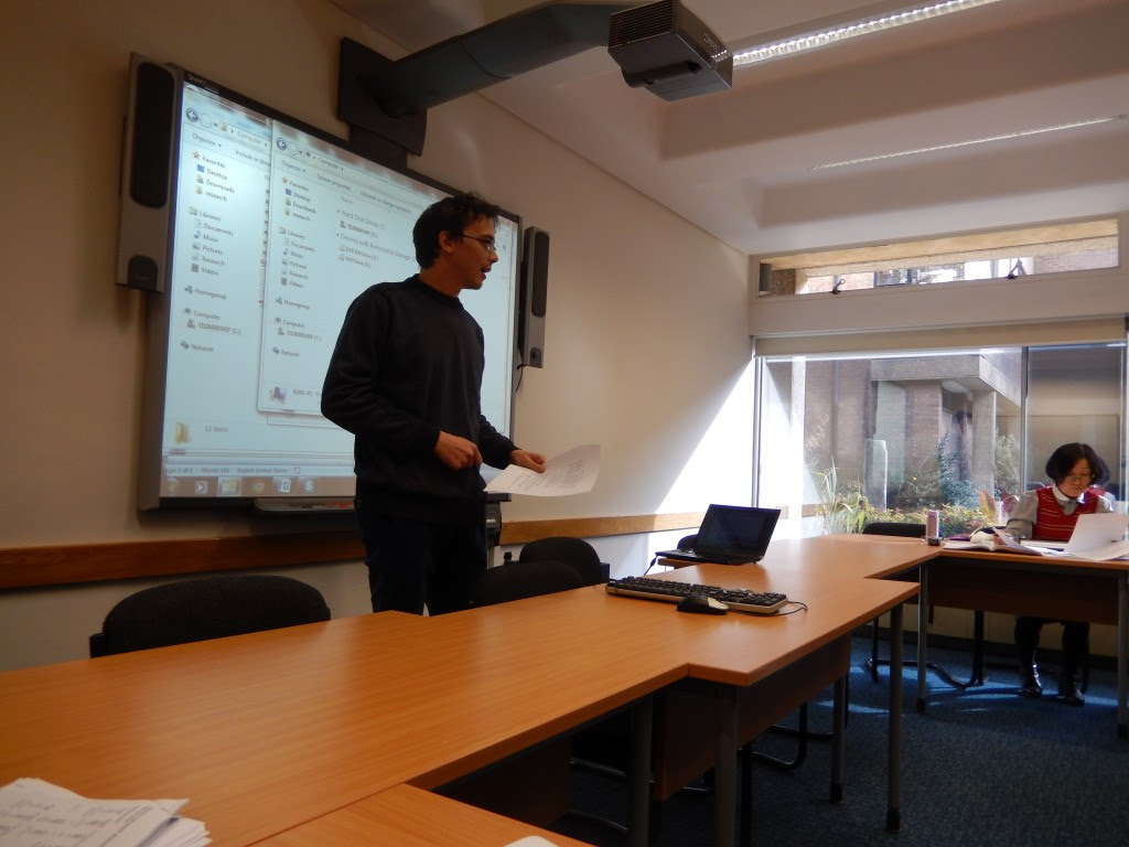 Guillaume Jacques presenting