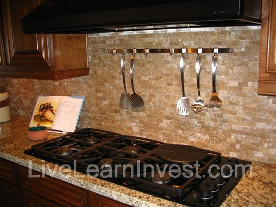 Mini brick backsplash Kitchen backsplash ideas pictures 2010