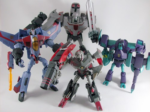 Transformers Animated Decepticons (by mdverde)