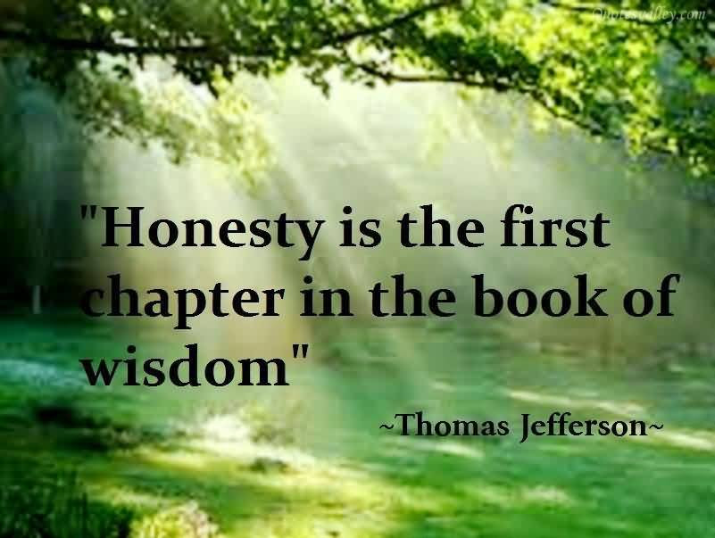Quotes About Honesty 1295 Quotes