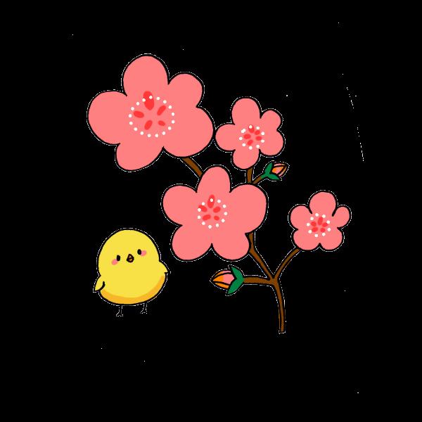 梅の花のイラスト かわいいフリー素材が無料のイラストレイン