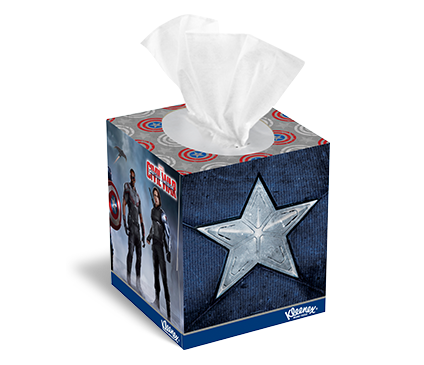 The Marvel Universe Tissue Box Designs From Kleenex
