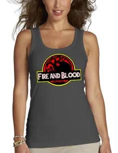 Camiseta Juego de Tronos diseño soy una khal-eesi de tirantes mujer