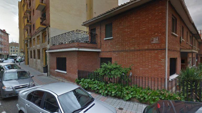 Imagen de la calle Obispo Manuel González, una de las vías que debe cambiar de nombre, según el Juzgado de lo Contencioso Administrativo de Palencia