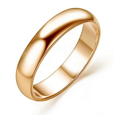 Classic Design Wedding Ring 18K Yellow Gold Plated Fashion
