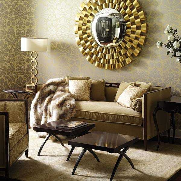 Ideas For Living Room Mirror Decor wallpaper