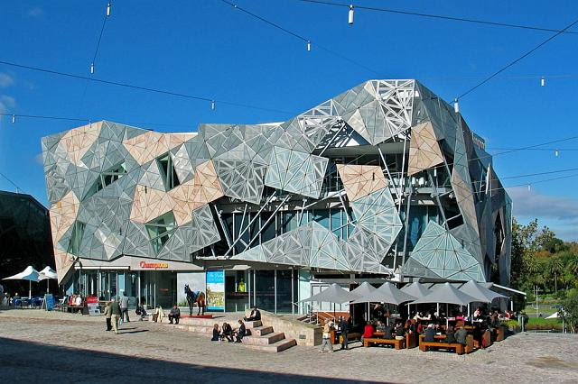 Image result for federation square melbourne