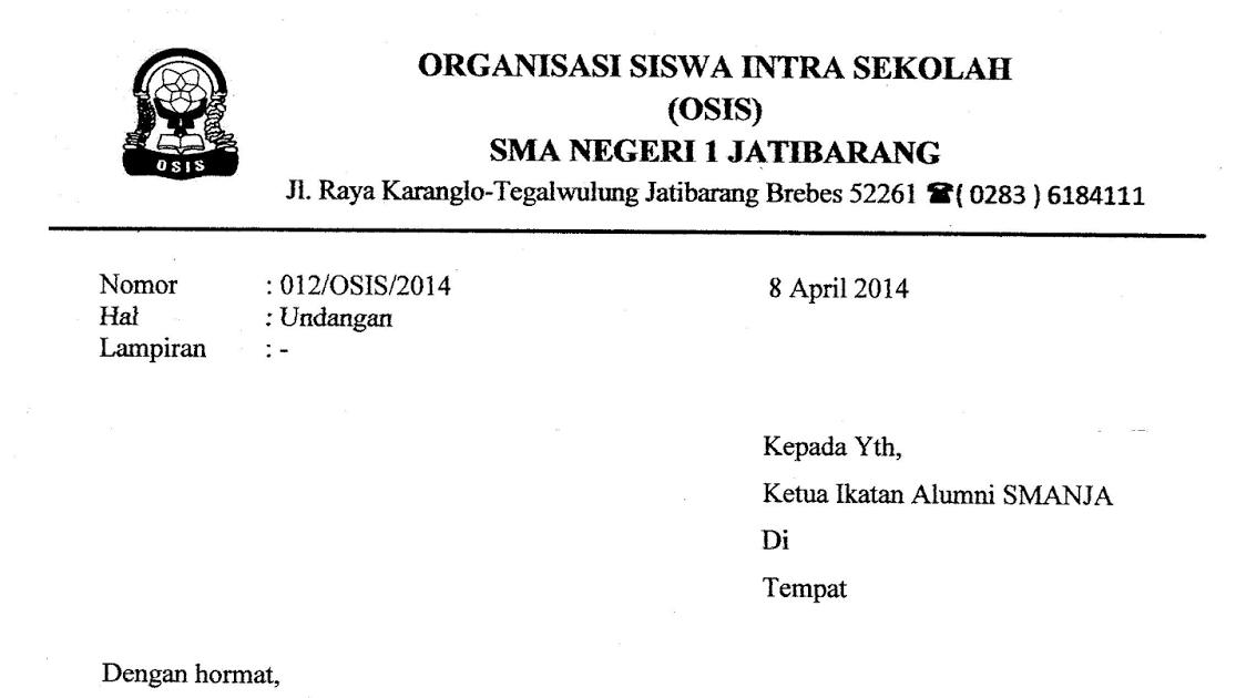 contoh surat undangan buka bersama untuk alumni contoh