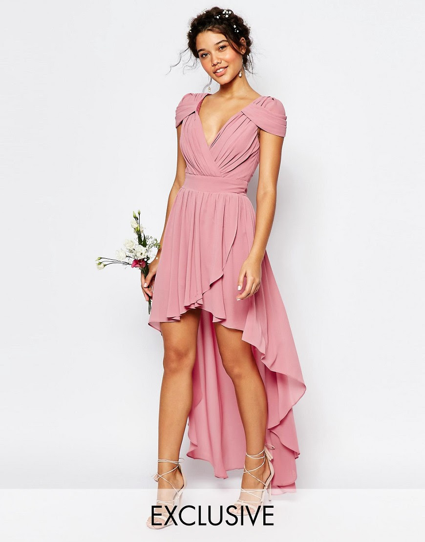 Image 1 of TFNC WEDDING High Low Chiffon Dress