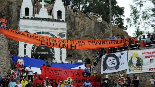 Resultado de imagen para Asesinato de Berta Cáceres Honduras