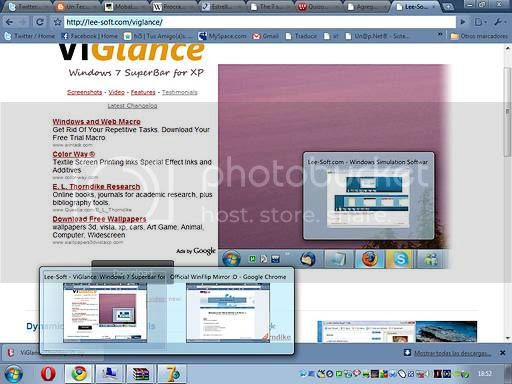 ViGlance 1.0 en Windows XP SP3