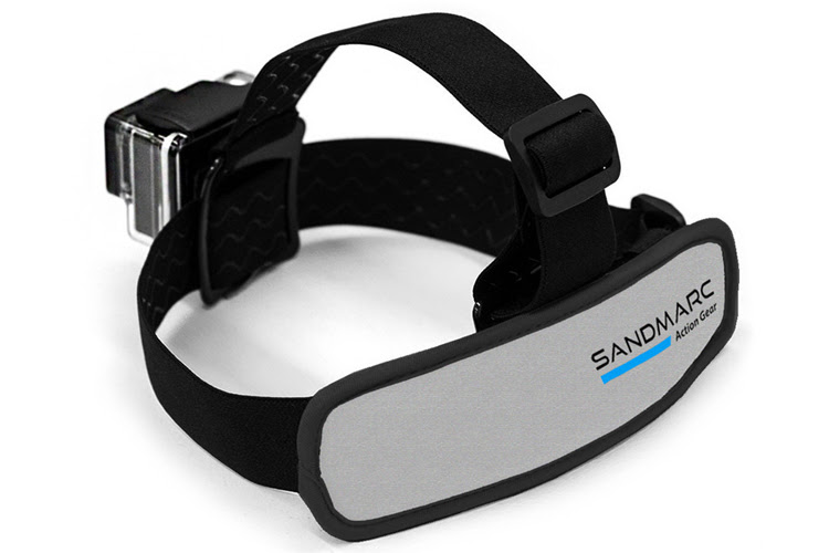 Sandmarc Floater Head Strap: it floats | Photo: Sandmarc