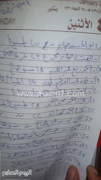المصابين فى حادث انقلاب قطار ركاب بنى سويف (8)