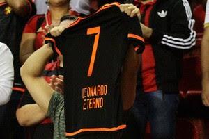 Sport x River-PI Leonardo camisa (Foto: Adelson Costa / Pernambuco Press)