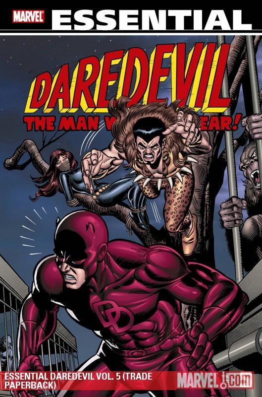 Essential Daredevil 5 cover