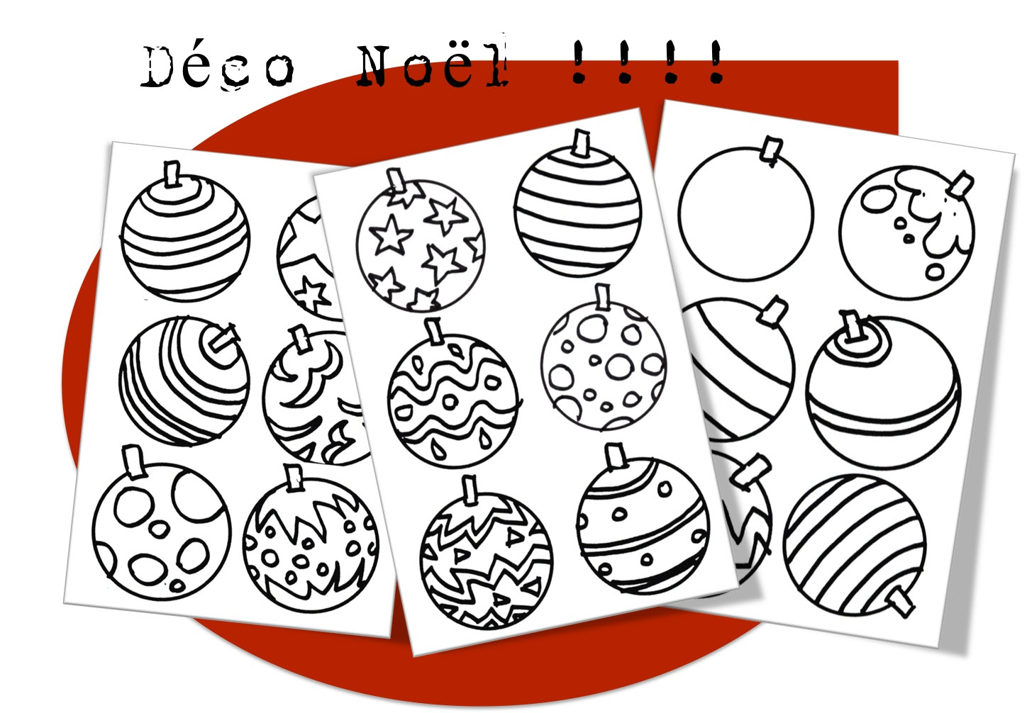 Coloriages De Noël Bout De Gomme