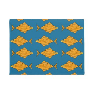 Non-fishy Fishes on Doormat