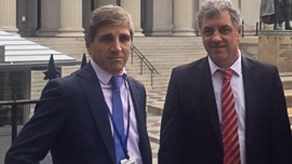 Los secretarios de Finanzas, Luis Caputo, y de Hacienda, Gustavo Marconato, diseñaron un plan para cancelar una abultada deuda heredada