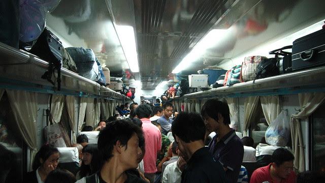 Hard Seat overnight - Chengdu to Xichang