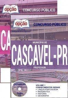 Apostila Concurso de Cascavel 2017.
