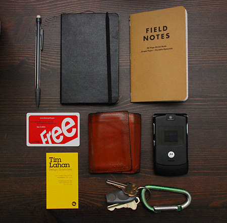 The items I carry by timlahan.