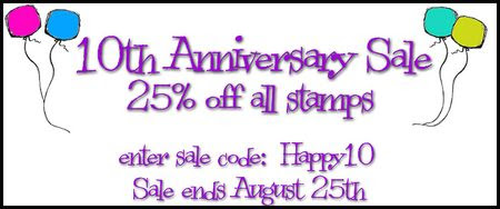 10th anniversary sale banner home page
