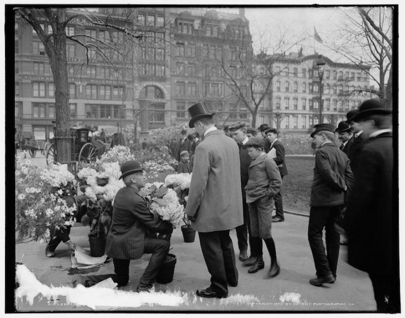 Fotos marcantes mostram a cidade de Nova Iorque ontem e hoje 05